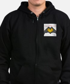 Softball - It's More Than Just A Game! Zip Hoodie
