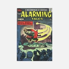 Alarming Tales #1 Rectangle Magnet