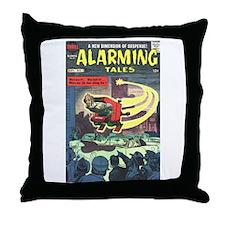 Alarming Tales #1 Throw Pillow