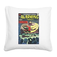 Alarming Tales #1 Square Canvas Pillow