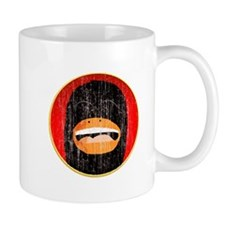 Distressed laughing Penguin head.png Mug