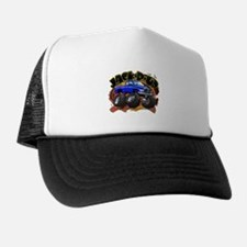 Blue Jack-R-Up Ram Trucker Hat