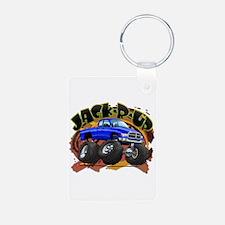 Blue Jack-R-Up Ram Keychains