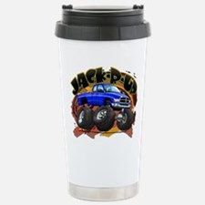 Blue Jack-R-Up Ram Stainless Steel Travel Mug