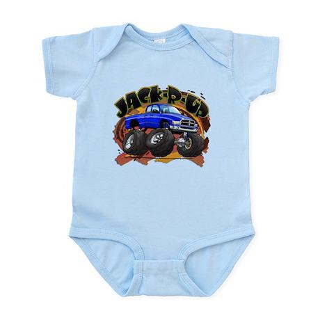 Blue Jack-R-Up Ram Infant Bodysuit