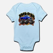 Blue Jack-R-Up Ram Infant Bodysuit