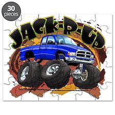 Blue Jack-R-Up Ram Puzzle
