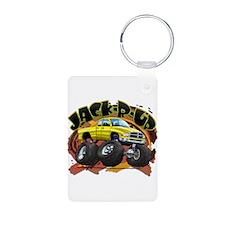 Yellow Jack-R-Up Ram Keychains