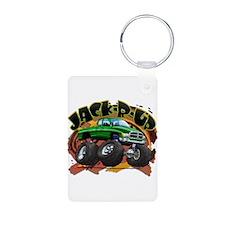 Green Jack-R-Up Ram Keychains