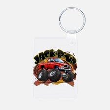 Red Jack-R-Up Ram Keychains