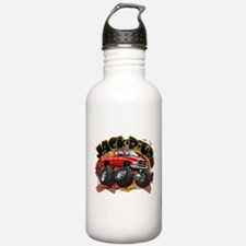 Red Jack-R-Up Ram Water Bottle