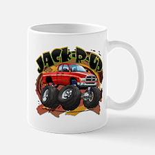 Red Jack-R-Up Ram Mug