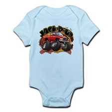Red Jack-R-Up Ram Infant Bodysuit
