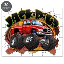 Red Jack-R-Up Ram Puzzle