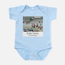 Roller Derby - Its Not Wrestling Infant Bodysuit