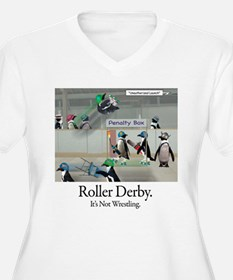Roller Derby - Its Not Wrestling T-Shirt