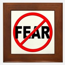Anti / No Fear Framed Tile