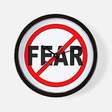 Anti / No Fear Wall Clock