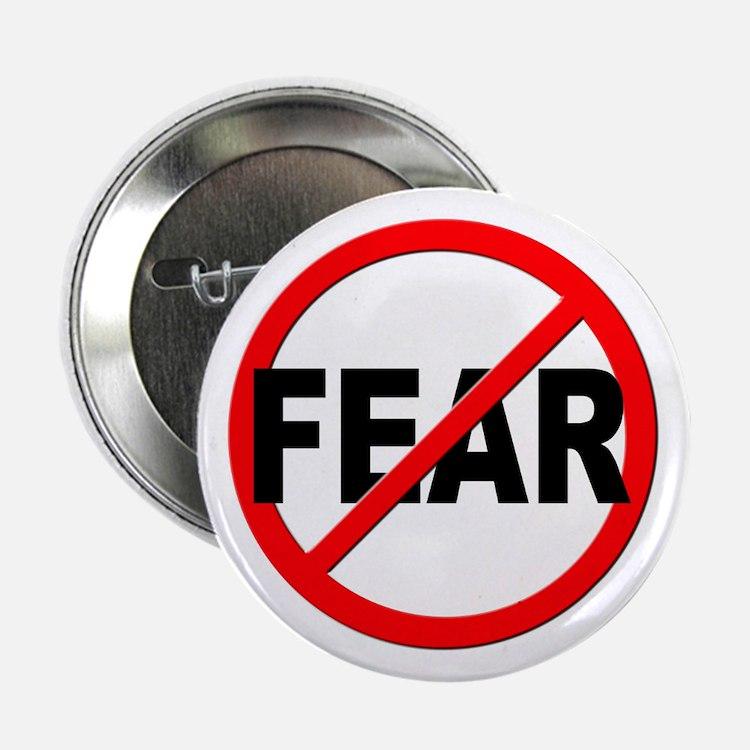 """Anti / No Fear 2.25"""" Button"""