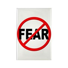 Anti / No Fear Rectangle Magnet