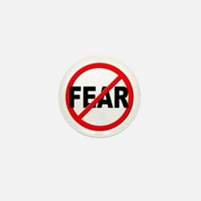 Anti / No Fear Mini Button