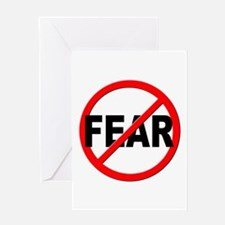 Anti / No Fear Greeting Card