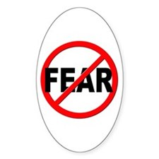 Anti / No Fear Decal