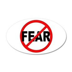 Anti / No Fear Wall Decal