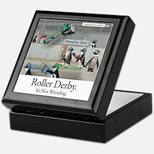 Roller Derby - Its Not Wrestling Keepsake Box