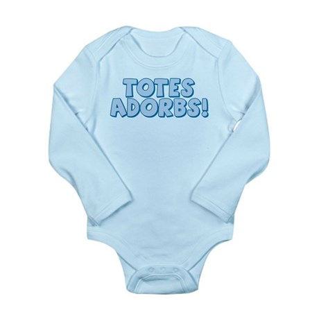 Totes Adorbs Long Sleeve Infant Bodysuit