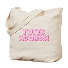 Totes Adorbs (pink) Tote Bag for