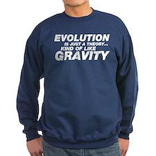 Evolution Just a Theory Sweatshirt