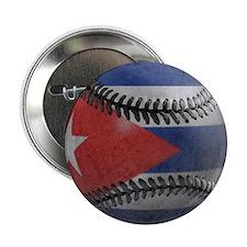 """Cuban Baseball 2.25"""" Button"""