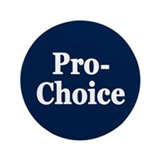 "Pro-Choice 3.5"" Button"