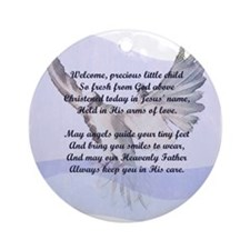 A Christening Gift for You! Ornament (Round)