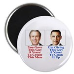 """Give Obama 8 Years 2.25"""" Magnet (10 pack)"""