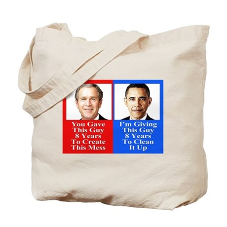Give Obama 8 Years Tote Bag