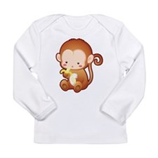 Fun Monkey Long Sleeve Infant T-Shirt