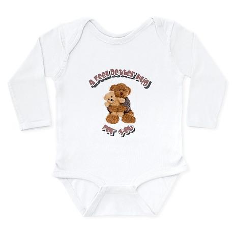 Feel Better Hug Long Sleeve Infant Bodysuit