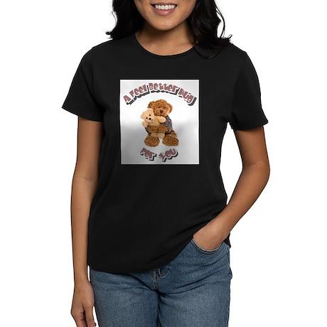 Feel Better Hug Women's Dark T-Shirt