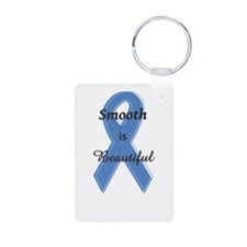 Lissencephaly Awareness Aluminum Photo Keychain