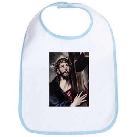 Christ carrying the Cross Bib