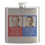 Give Obama 8 Years Flask