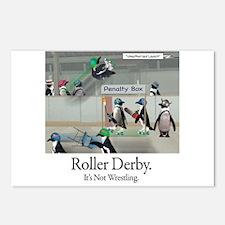 Roller Derby - Its Not Wrestling Postcards (Packag