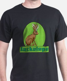 Jackalope Black T-Shirt