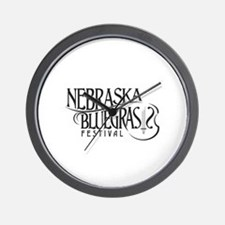 Nebraska Bluegrass Wall Clock