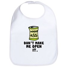 'Can of Whoop-A**' Bib