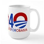 Large Female Sluts for Obama Mug