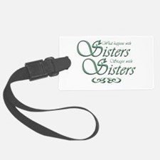 sisters10x10.png Luggage Tag