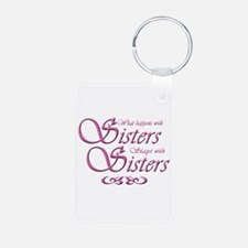 sisters10x10.png Keychains